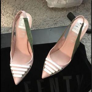 Fenty Slingback Puma heels never worn